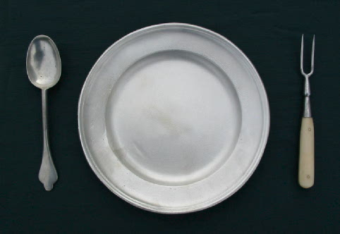Dinnerware. Pewter Plates We Are Proud To Offer These Fine Pewter Plates.  Hand Cast In Original Molds Using Lead Free Pewter, These Plates Are The  Ultimate ...